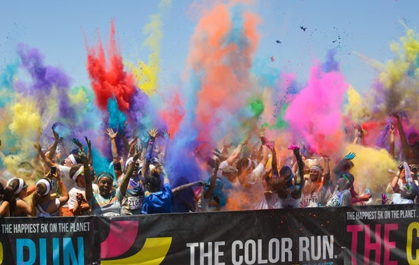 carrera The Color Run