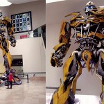Ambient Marketing: Transformers invaden Plaza Universidad