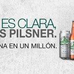 Pilsner Plata, la innovación de Indio para competir en el segmento de cerveza clara