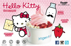 yogen fruz hello kitty
