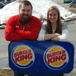 Burger King patrocinará boda de Joel Burger y Ashley King