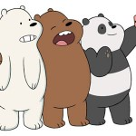 3 adorables osos protagonizan Escandalosos, la nueva serie original de Cartoon Network