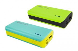 ginga power banks colors