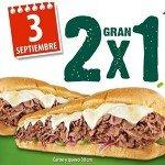Subway lanza promoción de Subs en el Día Nacional 2×1