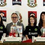 Quaker y el Tricolor firman alianza para fortalecer la alimentación de los jugadores