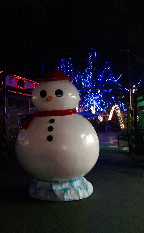 christmas in the park de Six Flags
