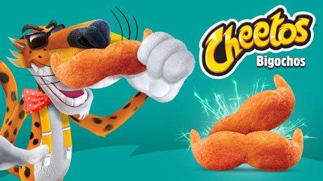 cheetos en forma de bigote