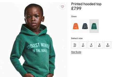 racismo H&M