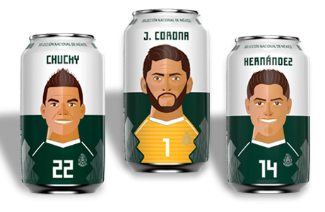 latas cerveza Corona