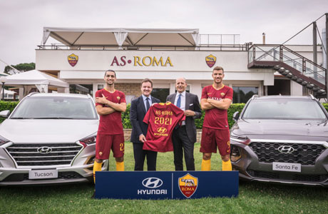 patrocinio Hyundai AS Roma