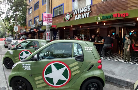 Wings Army Condesa