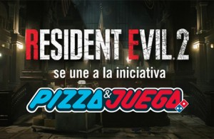 Resident Evil 2 y Dominos Pizza se unen