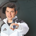 Chucky Lozano relojes Orient
