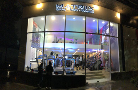 showroom Polanco Matrix Fitness