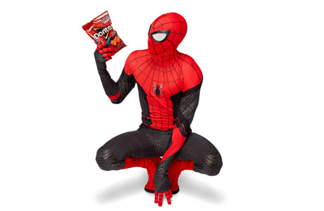traje Black & Red Spiderman