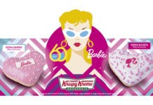 dona Barbie en Krispy Kreme