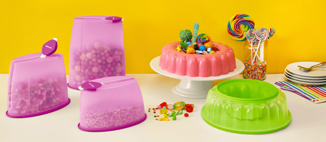 recipientes Tupperware