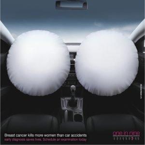 publicidad cáncer de mama