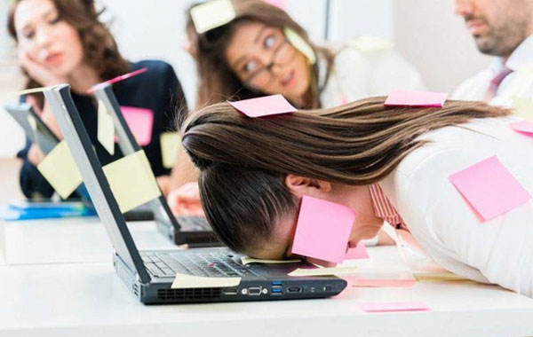 estrés laboral mexicanos