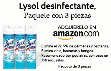 Amazon Lysol desinfectante