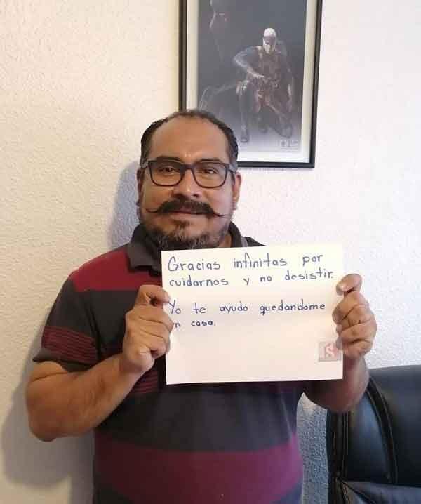 mensajes de apoyo a médicos