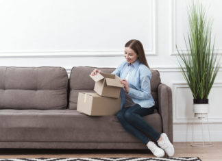 recibir paquetes de forma segura