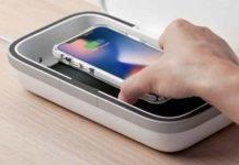 sanitizante para smartphones