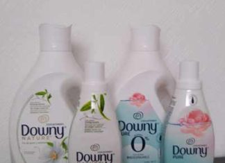 suavizantes Downy Nature y Pure