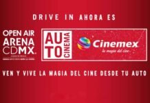 Autocinema Cinemex Open Air Mx