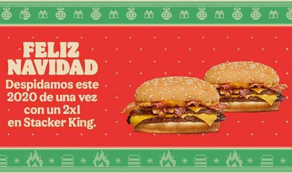 campaña Navidad Burger King