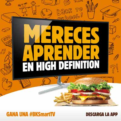 Burger King Smart TV