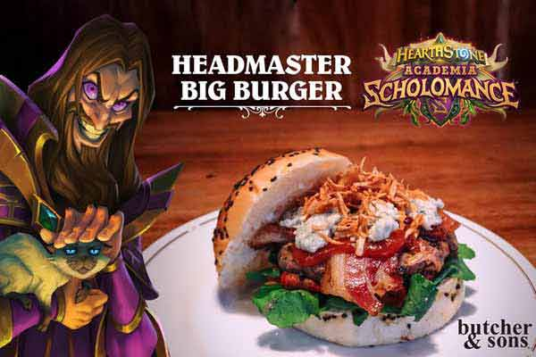 Blizzar Headmaster Big Burger