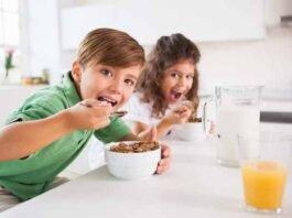 importancia del desayuno en niños