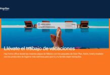 campaña Home office en la playa