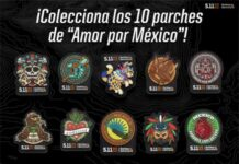 parches Amor por México 5.11 Tactical