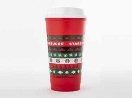 vaso Starbucks ugly sweater
