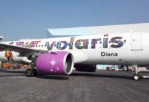 avión Volaris Wonder Woman