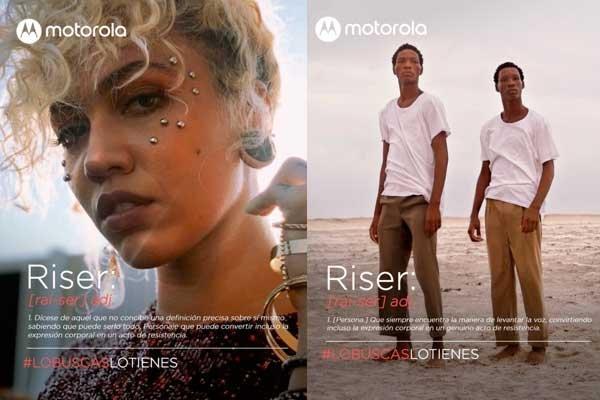 Motorola risers nueva campaña