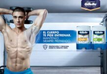 Gillette HydraGel Antitranspirante