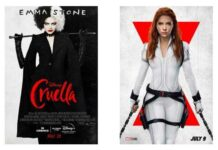 estreno Cruella y Black Widow