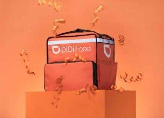 nueva mochila DiDi Food