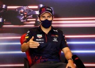 Checo Pérez en Red Bull Mundial de Pilotos