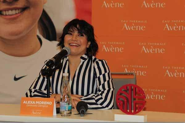 Alexa Moreno embajadora Avene